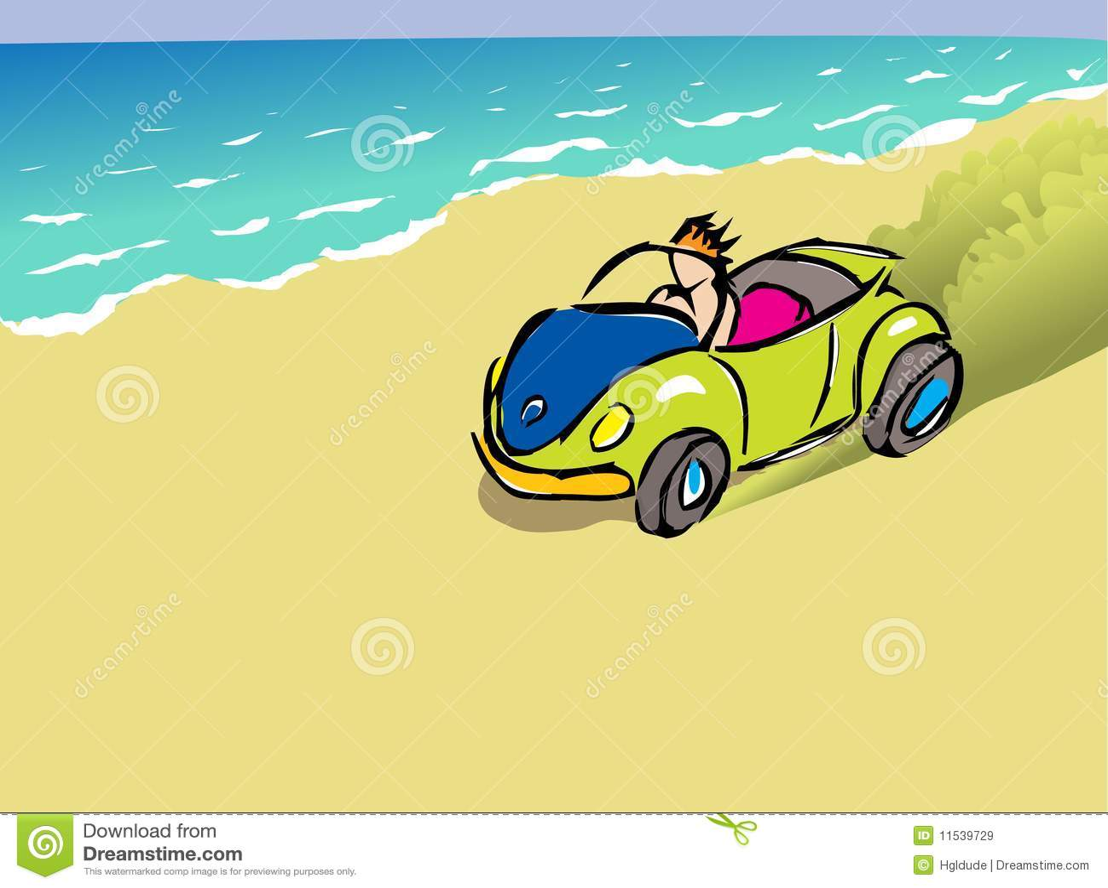 Cochecillo de la playa
