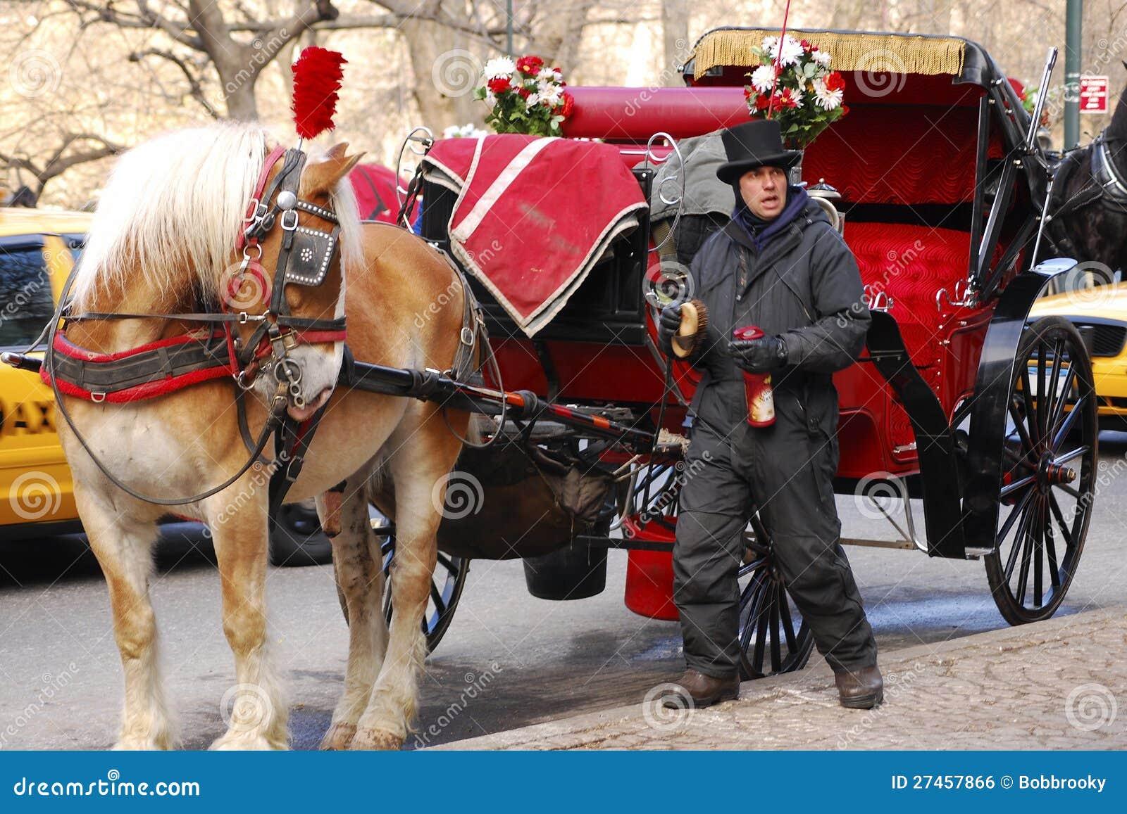 Cochecillo traído por caballo, Nueva York