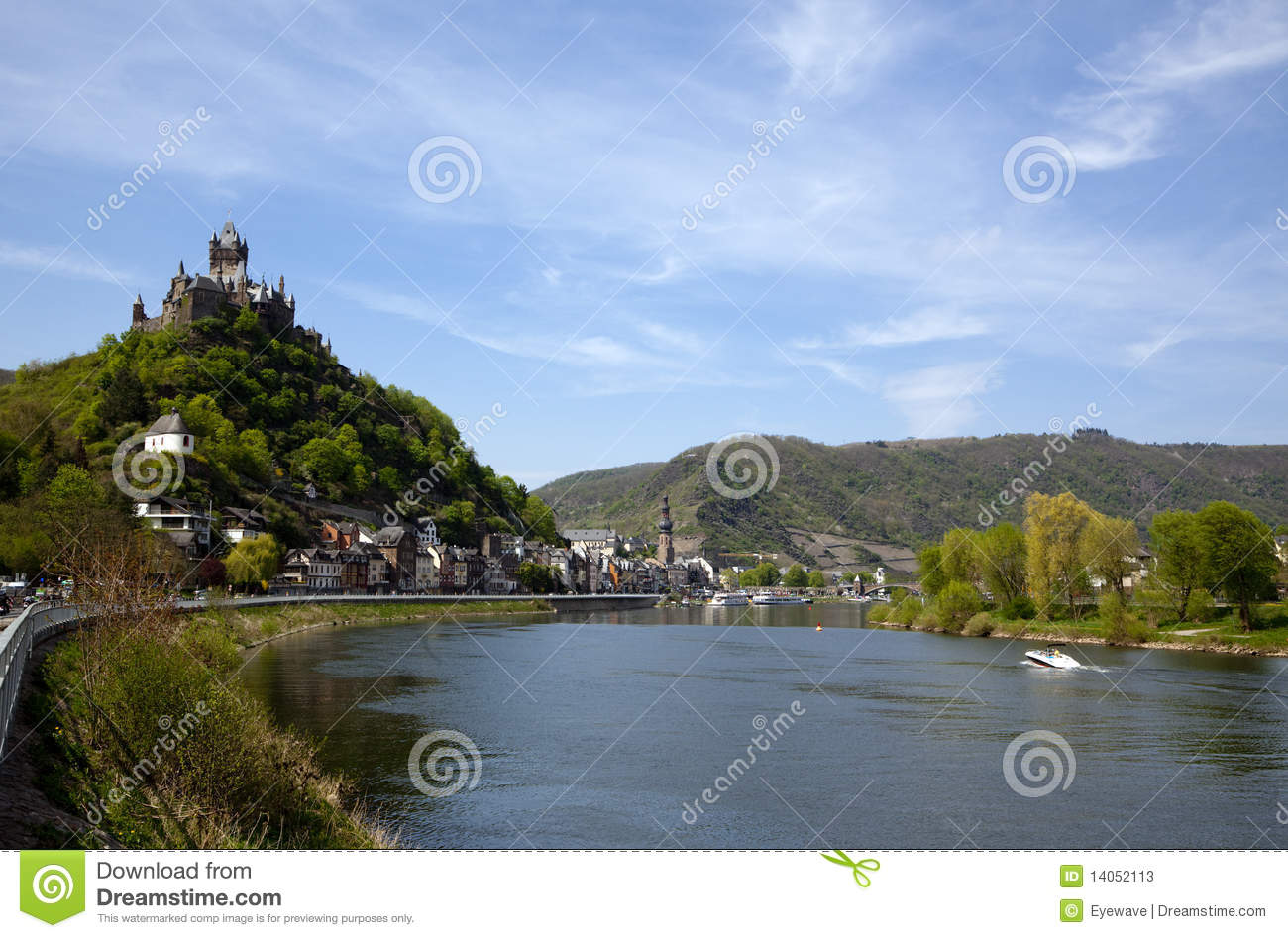 Cochem in the Mosel Valley
