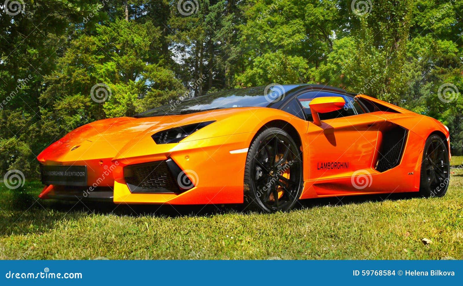 Coches de deportes, Estupendo-coches, Lamborghini Aventador
