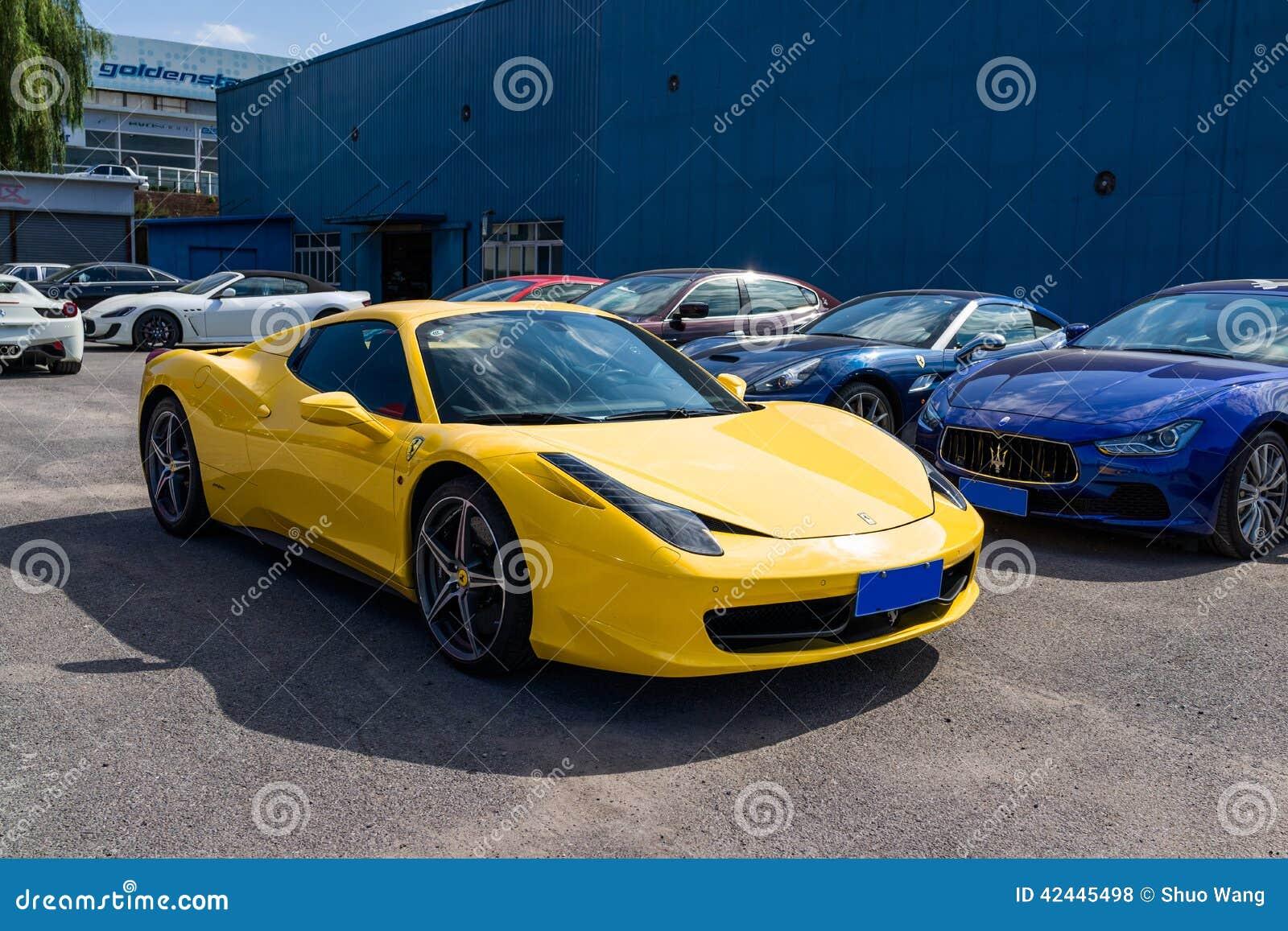 Coches de Ferrari