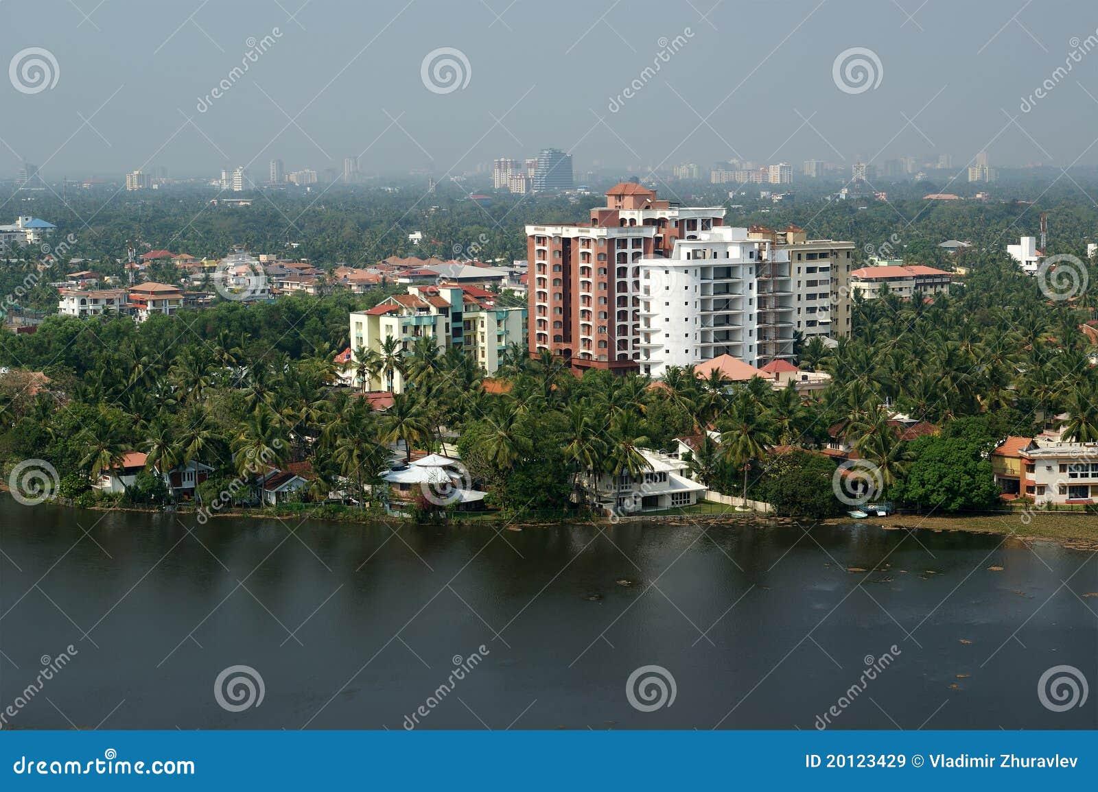 Cochin Kochi Kerala South India Royalty Free Stock
