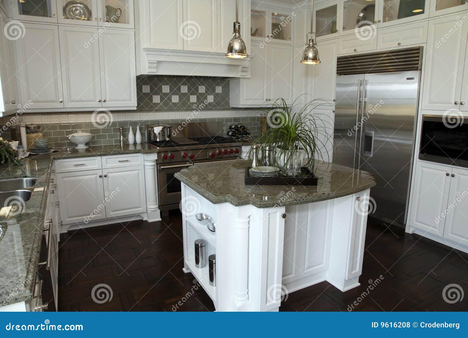 Cocinas De Lujo Modernas Cheap Lujo Las Cocinas Blancas
