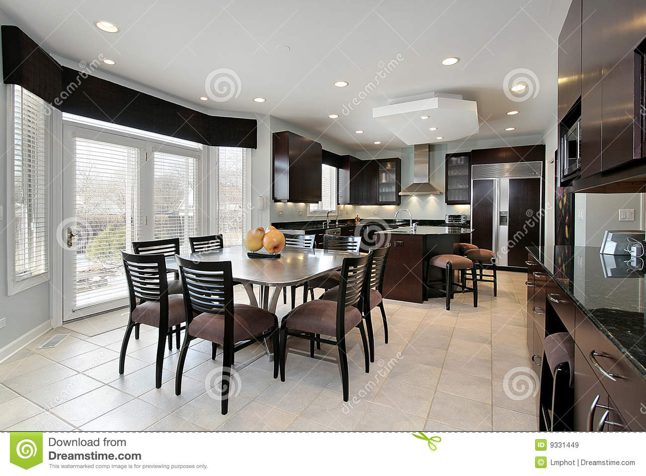 Kitchen Lounge Design Combined