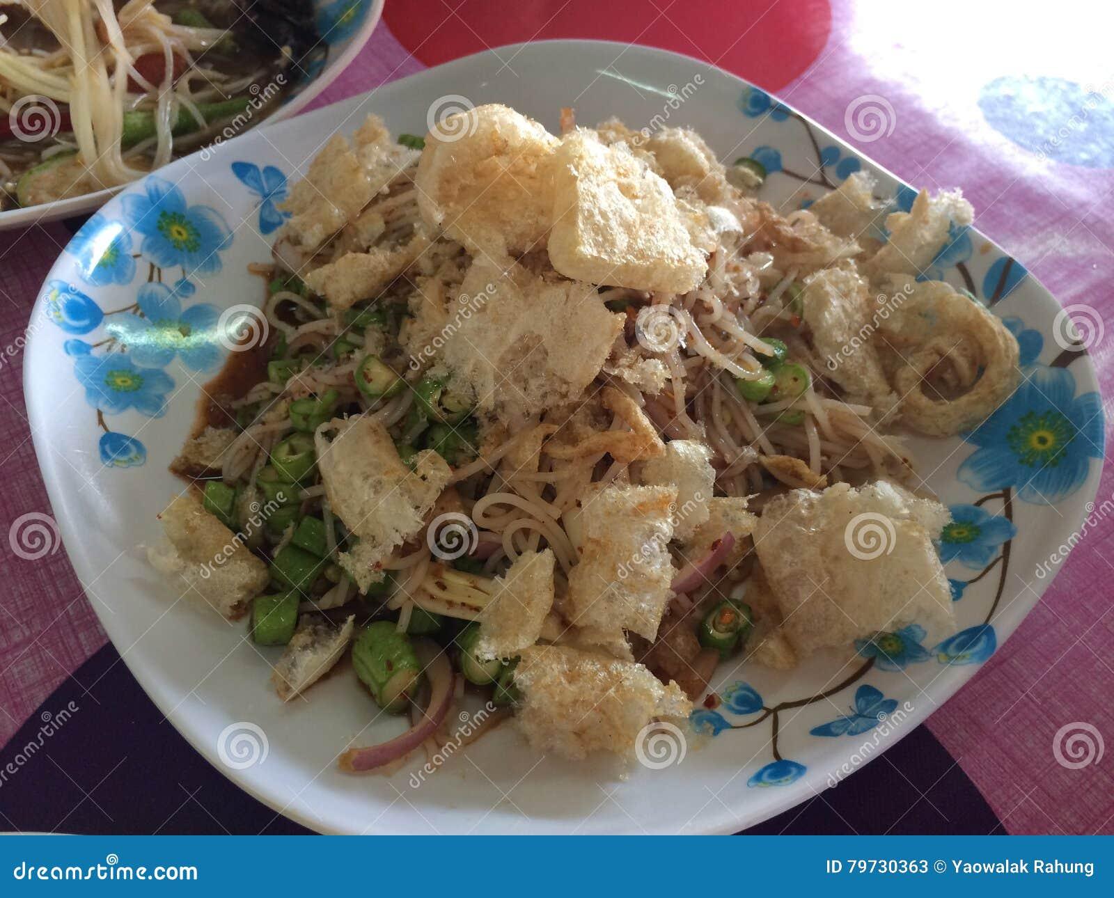 Cocina de la comida de Tam del som de Tailandia