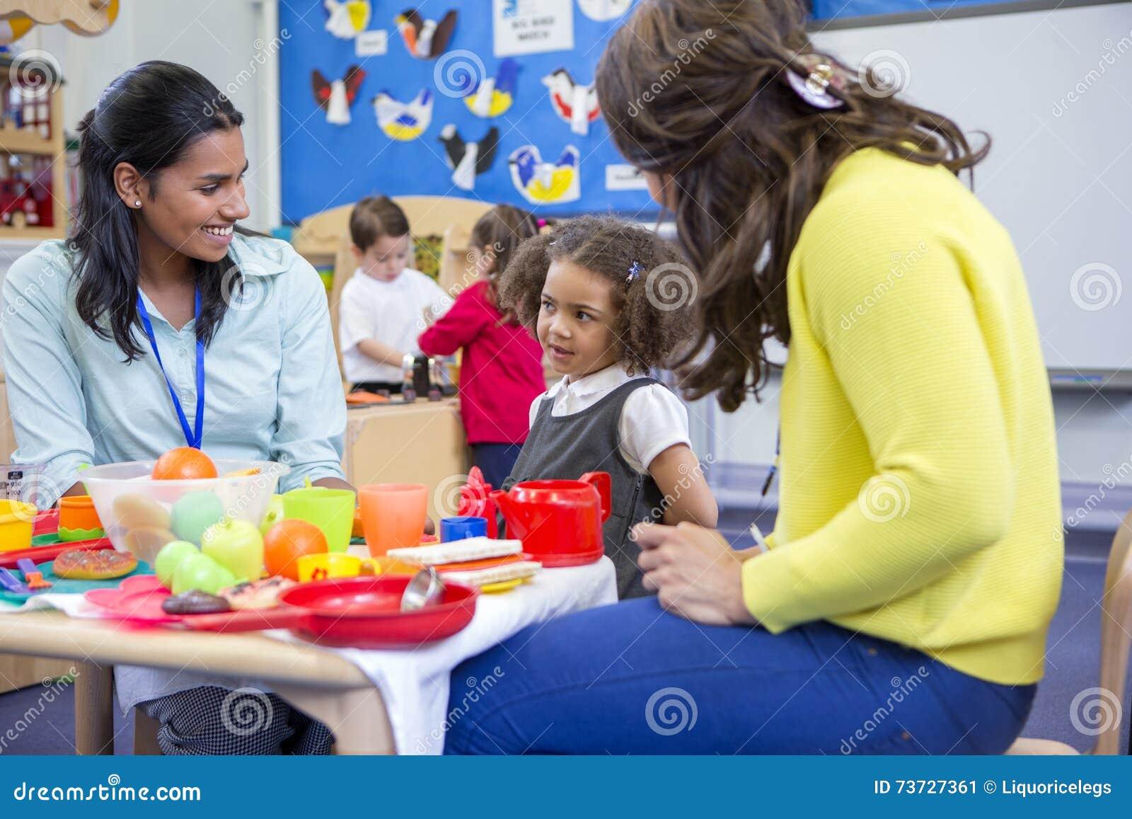 Cocina del Roleplay en el cuarto de niños