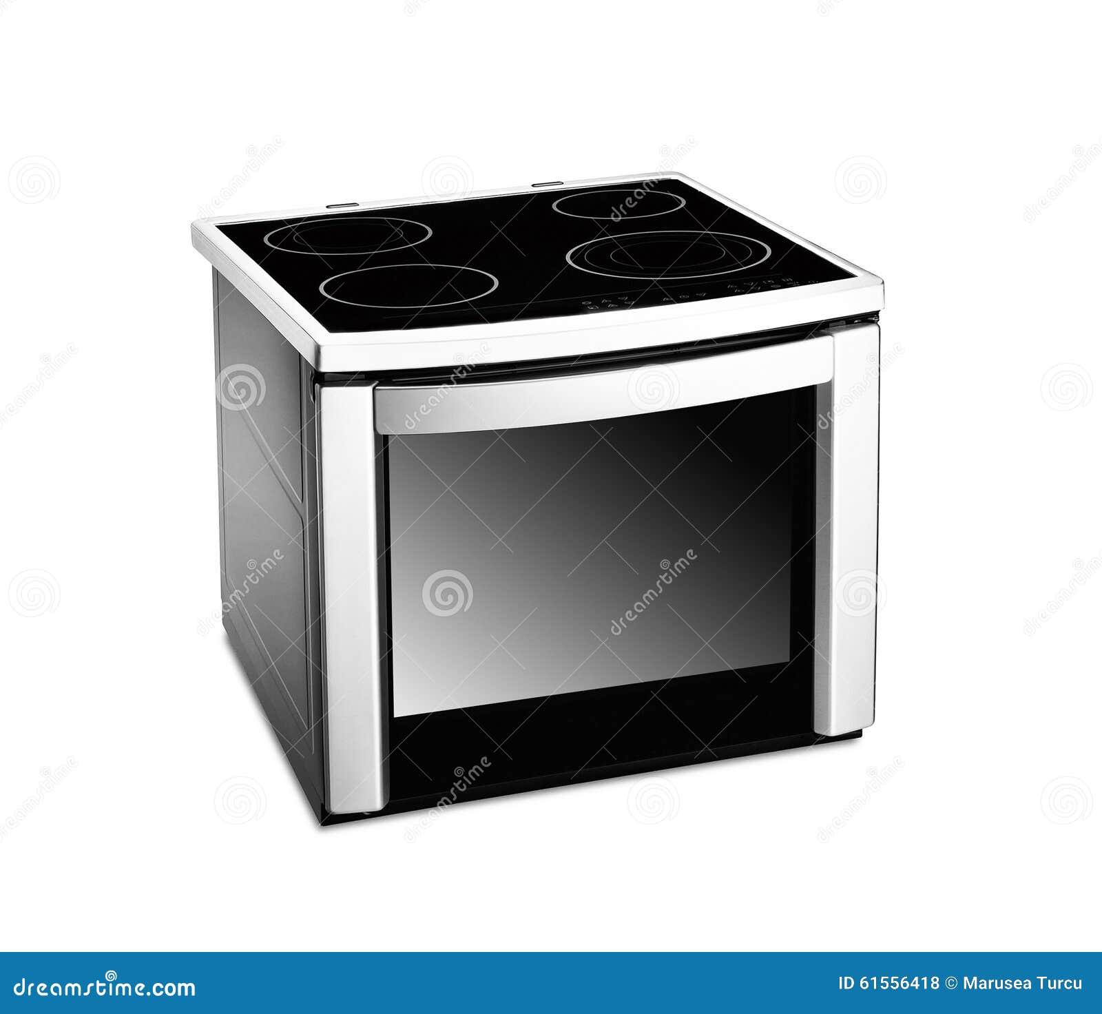 Cocina Industrial Electrica Acero Inoxidable Con Horno 800 De 4 Fuegos