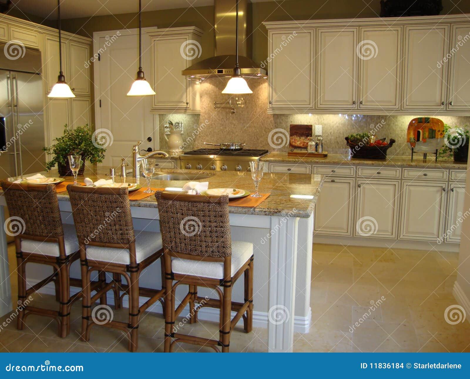 Cocina hermosa imagenes de archivo imagen 11836184 for Disenador de cocinas gratis