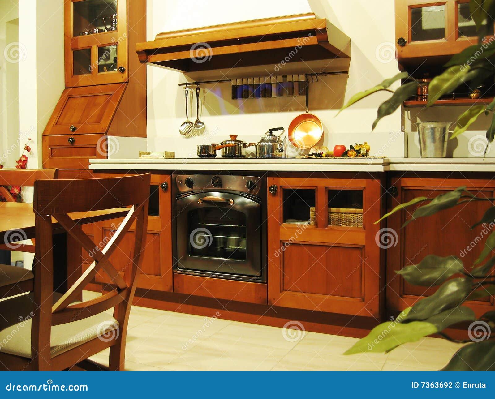 Cocina ideal foto de archivo. Imagen de casero, apartamento - 7363692