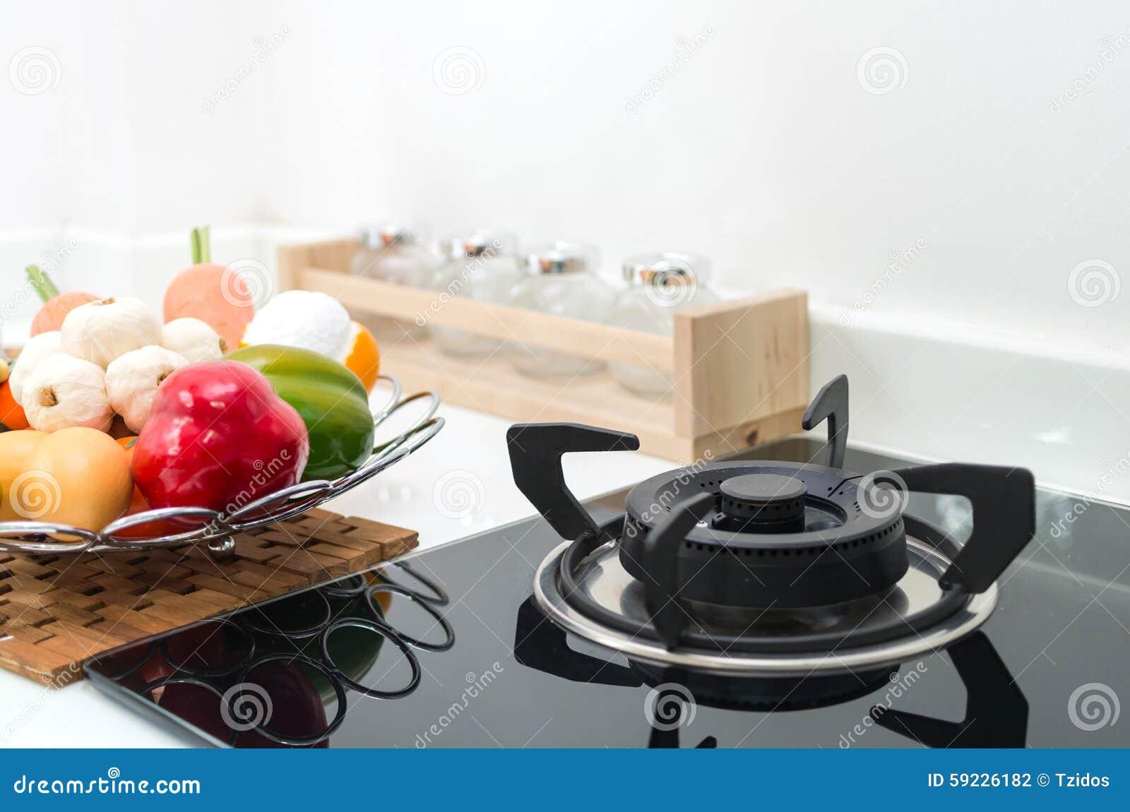 Download Cocina Interior, Detalle De La Estufa Eléctrica Foto de archivo - Imagen de bases, mobiliarios: 59226182
