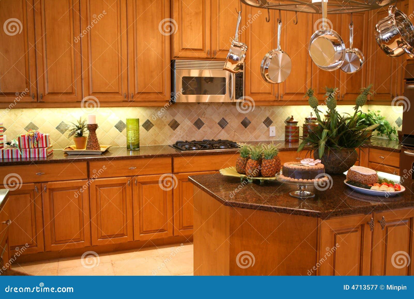 Cocina lujosa
