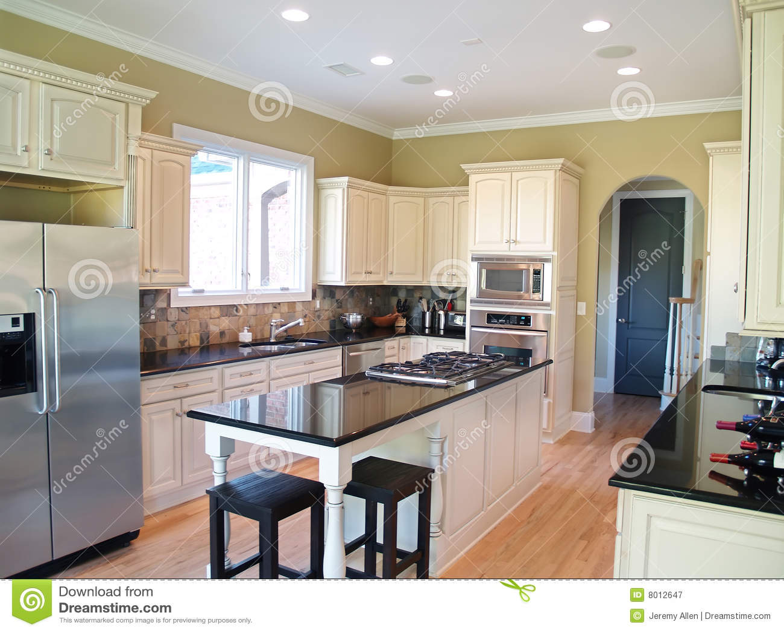 Cocina moderna blanca - Cocina blanca moderna ...