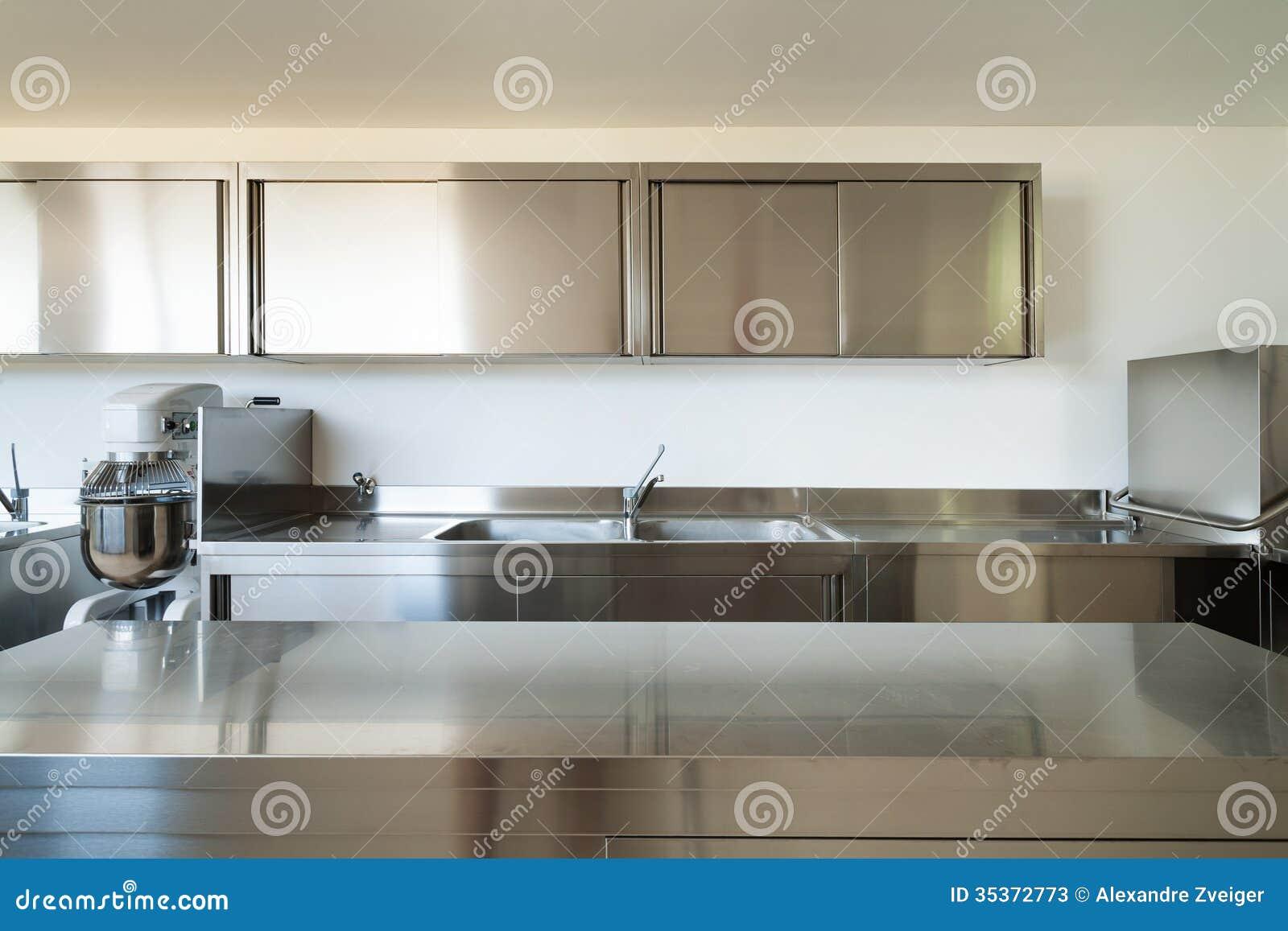 Cocina profesional fotos de archivo imagen 35372773 for Cocina profesional