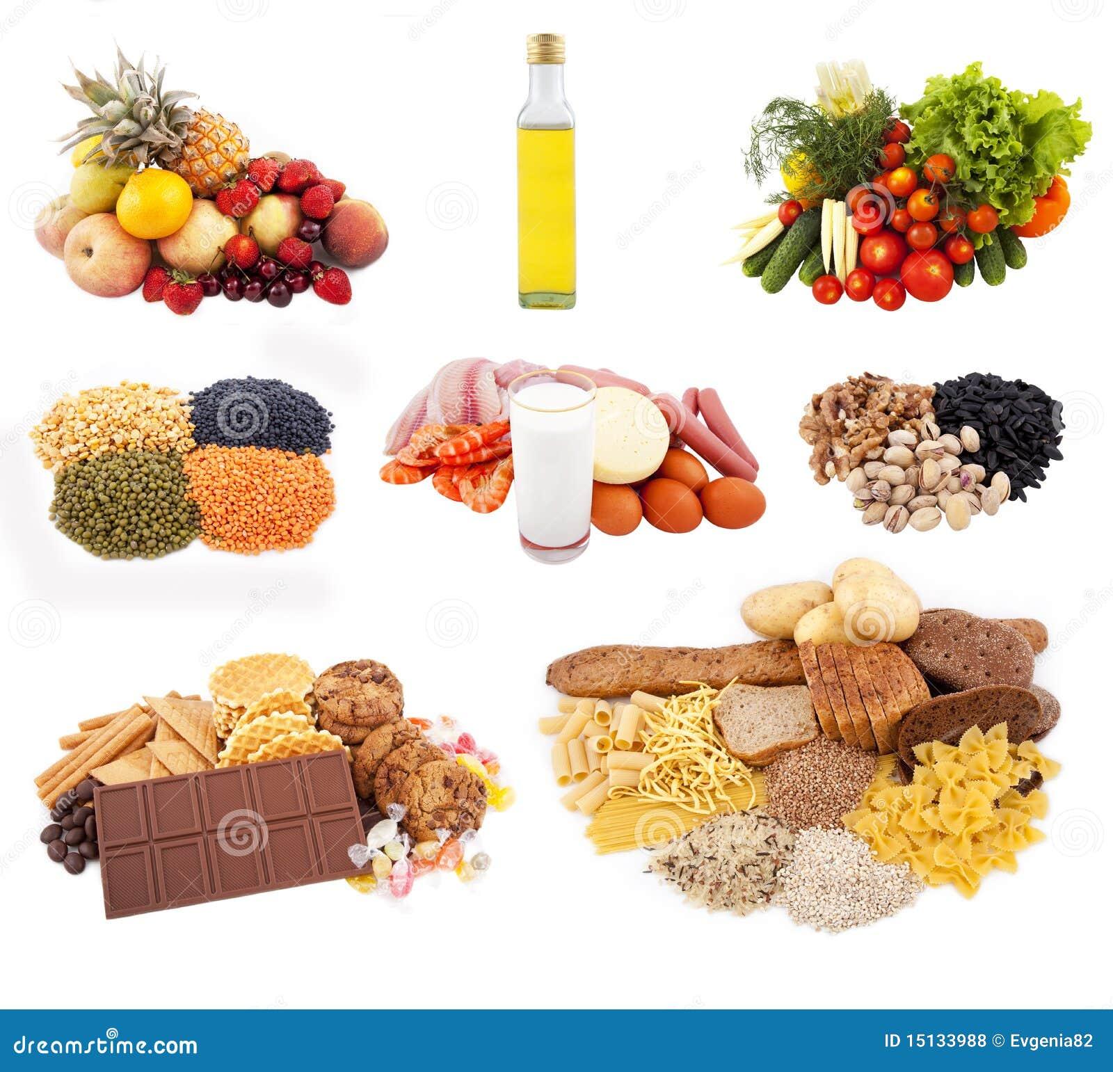 Cocina Separada Para El Sistema De La Dieta De La Nutrición Foto De Archivo Imagen De Tuercas Grano 15133988