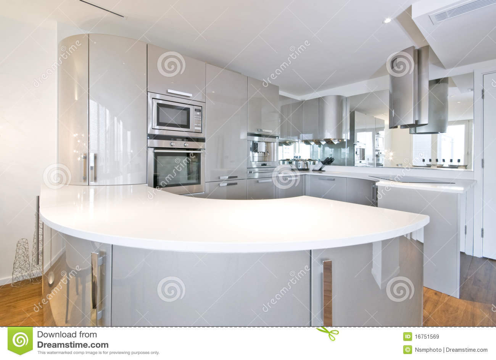 Cocina ultra moderna del diseñador