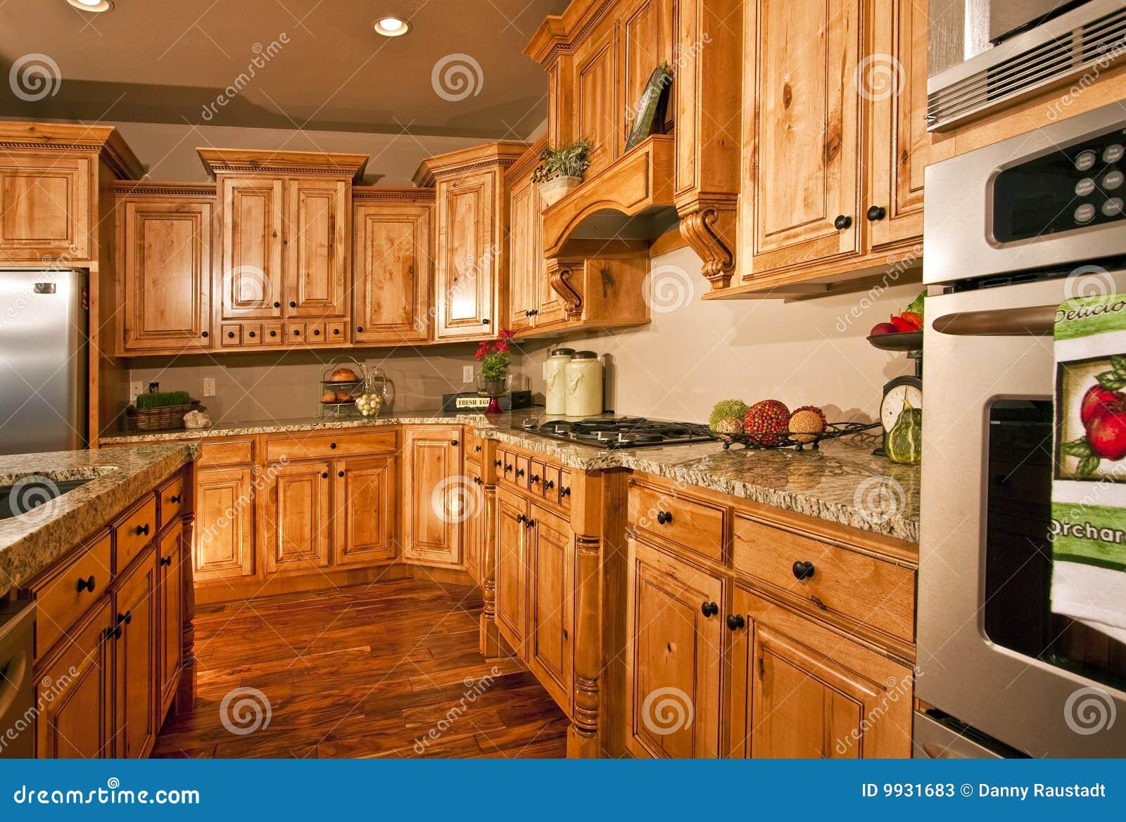 Cocina y aplicaciones modernas grandes fotos de archivo for Cocinas grandes modernas