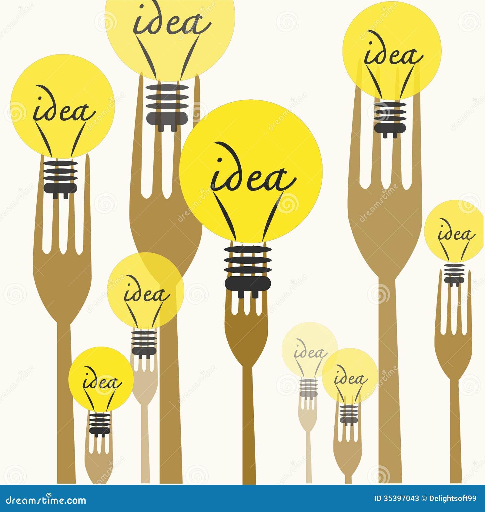 Cocinar ideas ilustración del vector. Ilustración de arte - 35397043