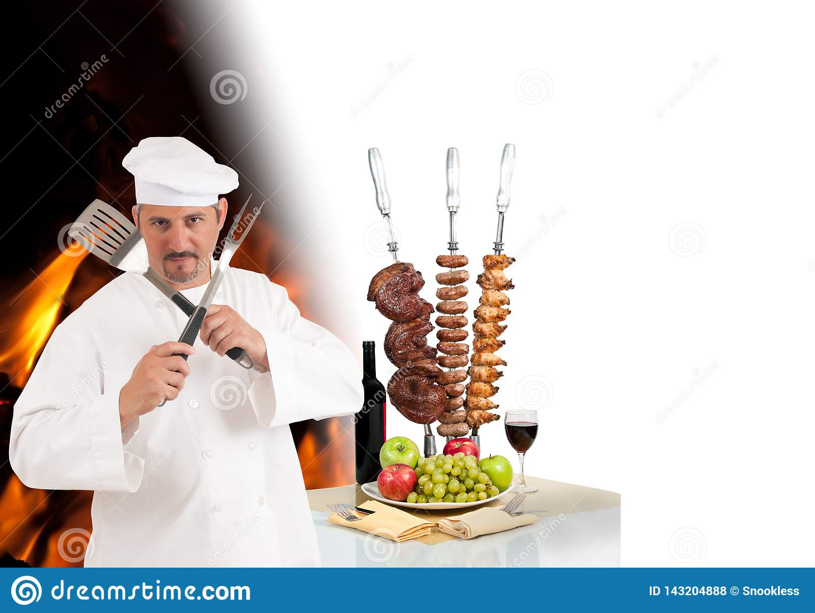 Cocinero de Churrascaria