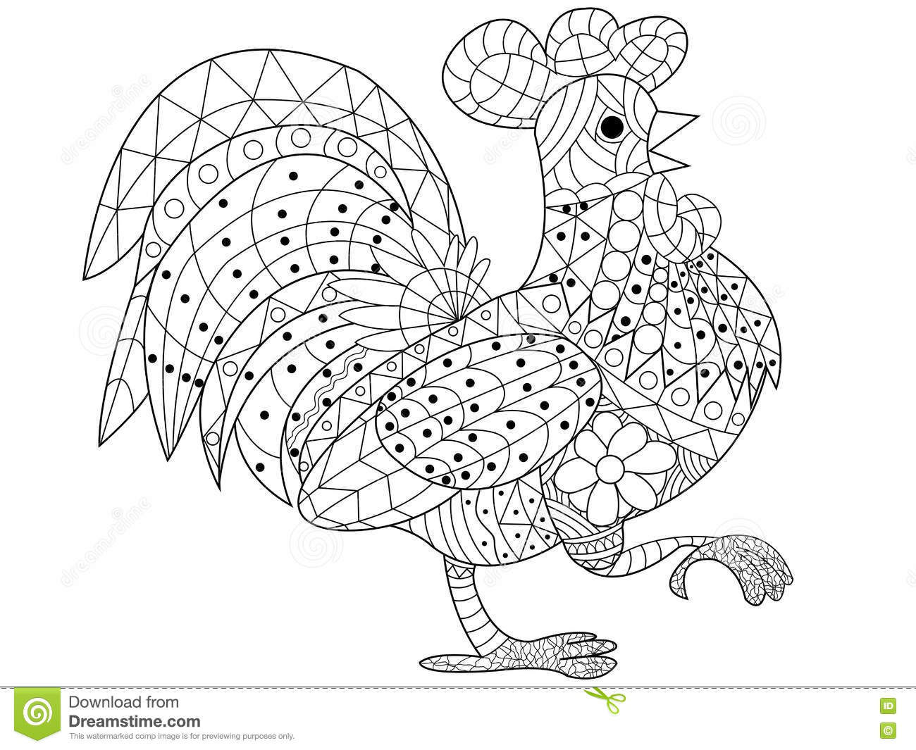 Coloring Book Vector For Adults