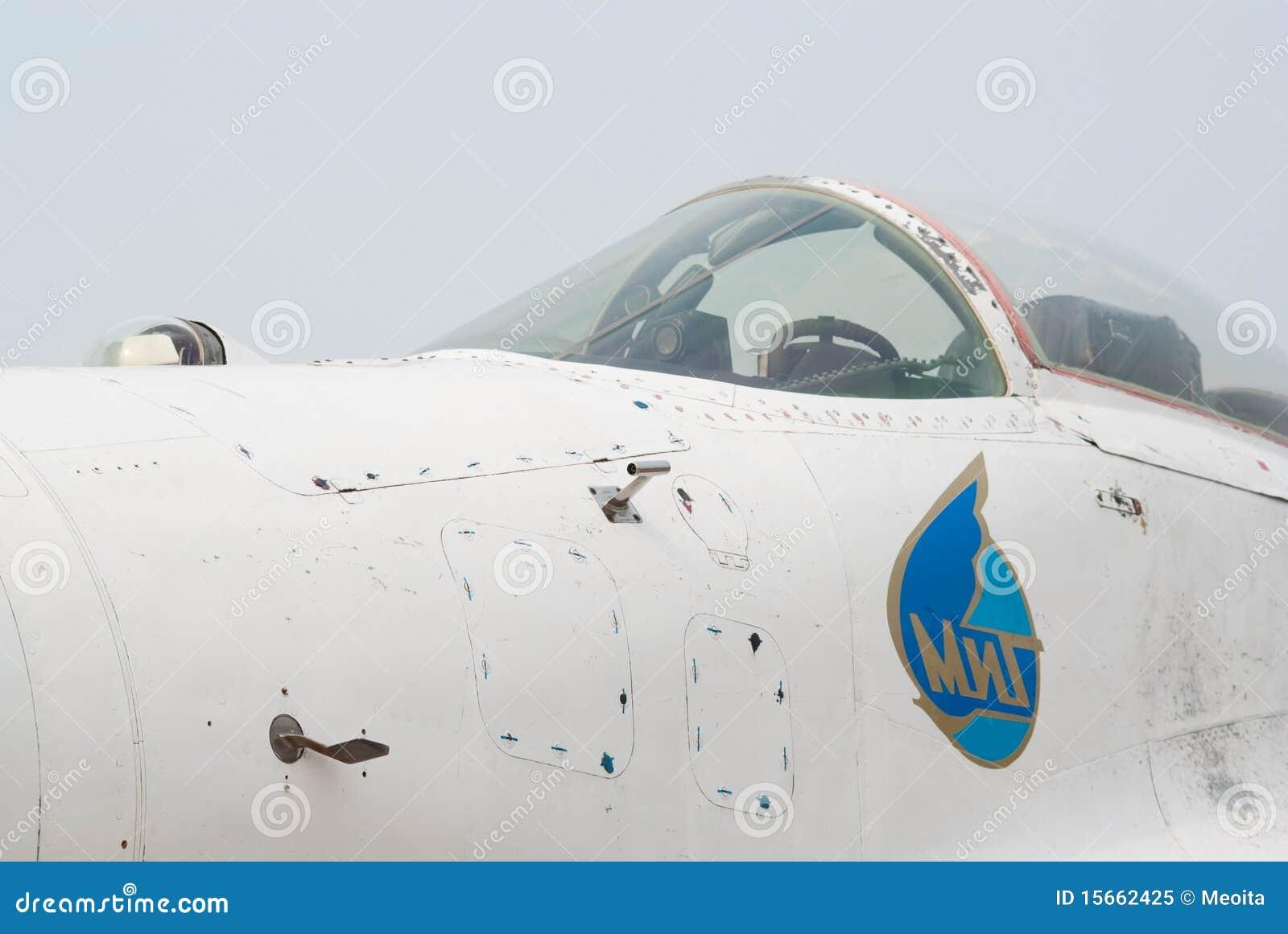 Cockpit of MiG-29 jet editorial image  Image of closeup - 15662425
