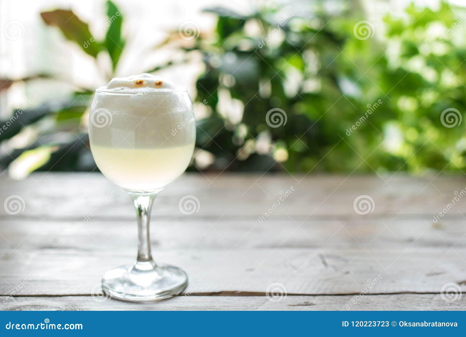 Cocktail ácido de Pisco