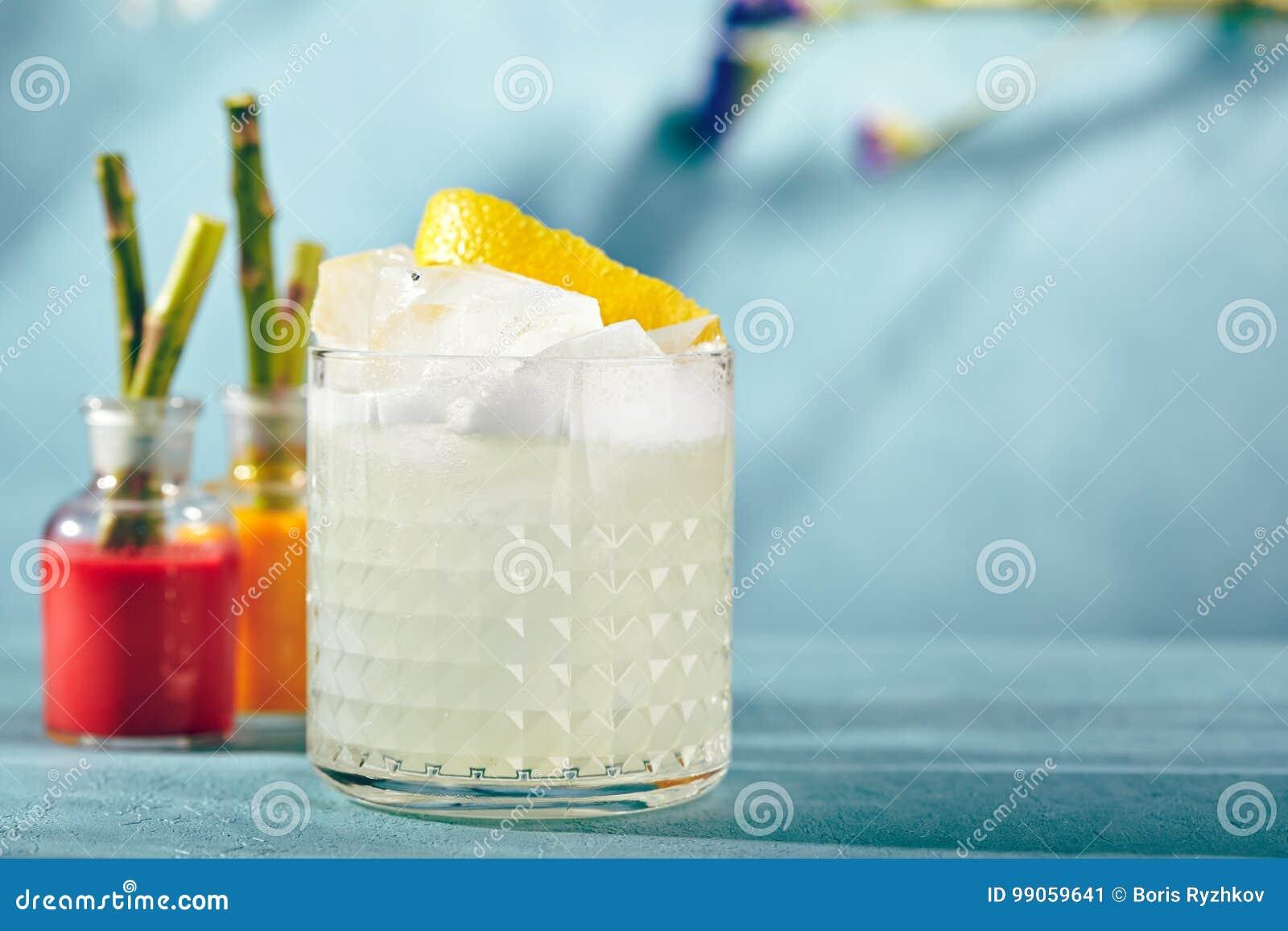 Cocktail aigre de vodka