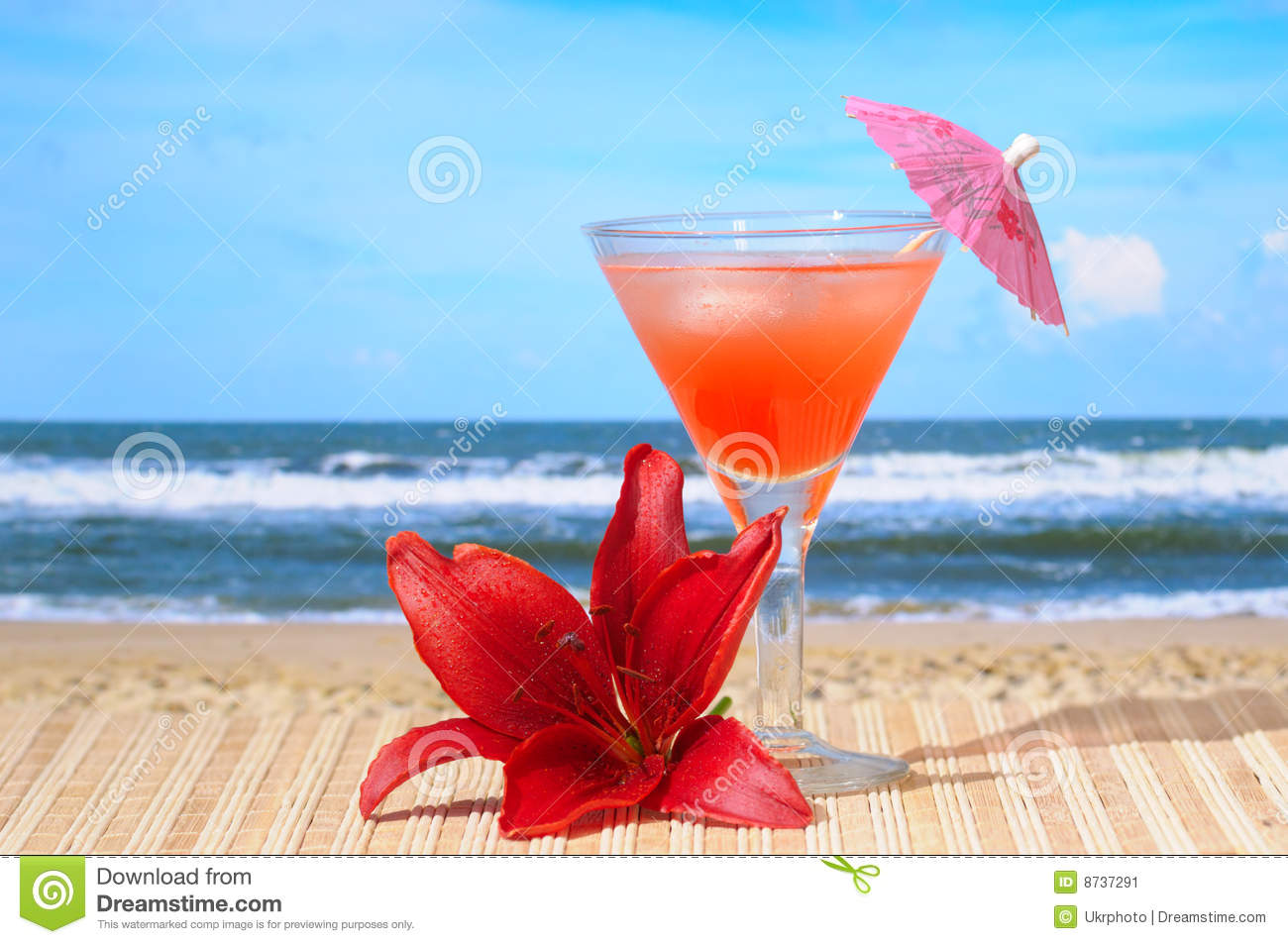 Cocktail at Beach