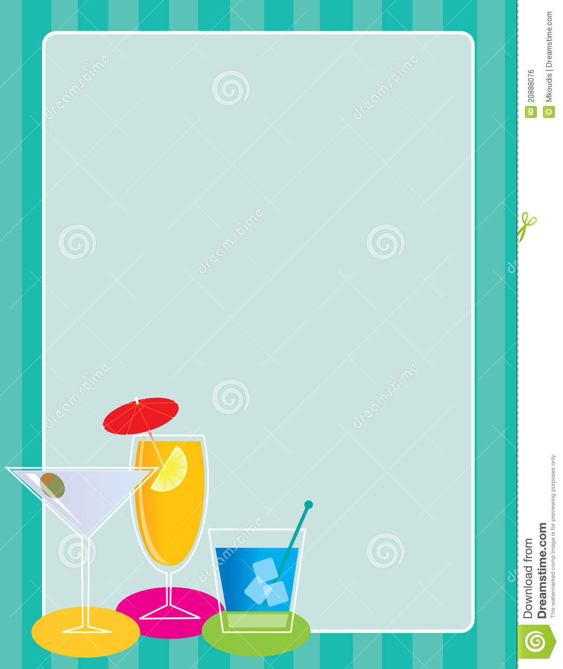cocktail border stock vector illustration of olive  cube swimming pool clipart wallpaper swimming pool clip art free