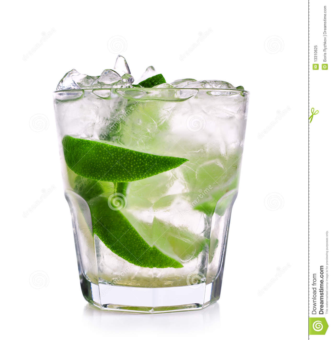 Caipirinha cocktail  Cocktail - Caipirinha Lizenzfreies Stockfoto - Bild: 13310625