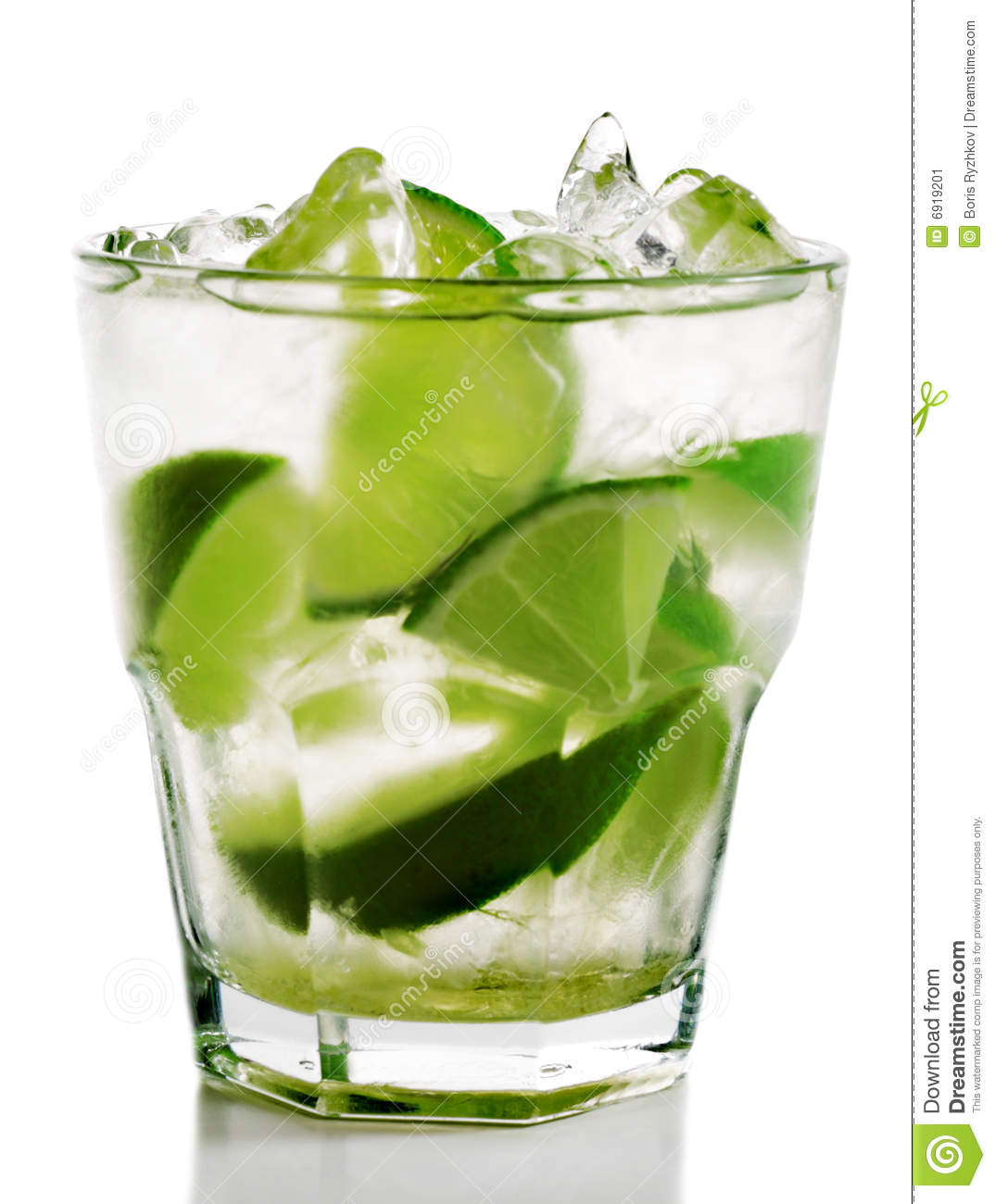 Caipirinha cocktail  Cocktail - Caipirinha Stockbild - Bild: 6919201