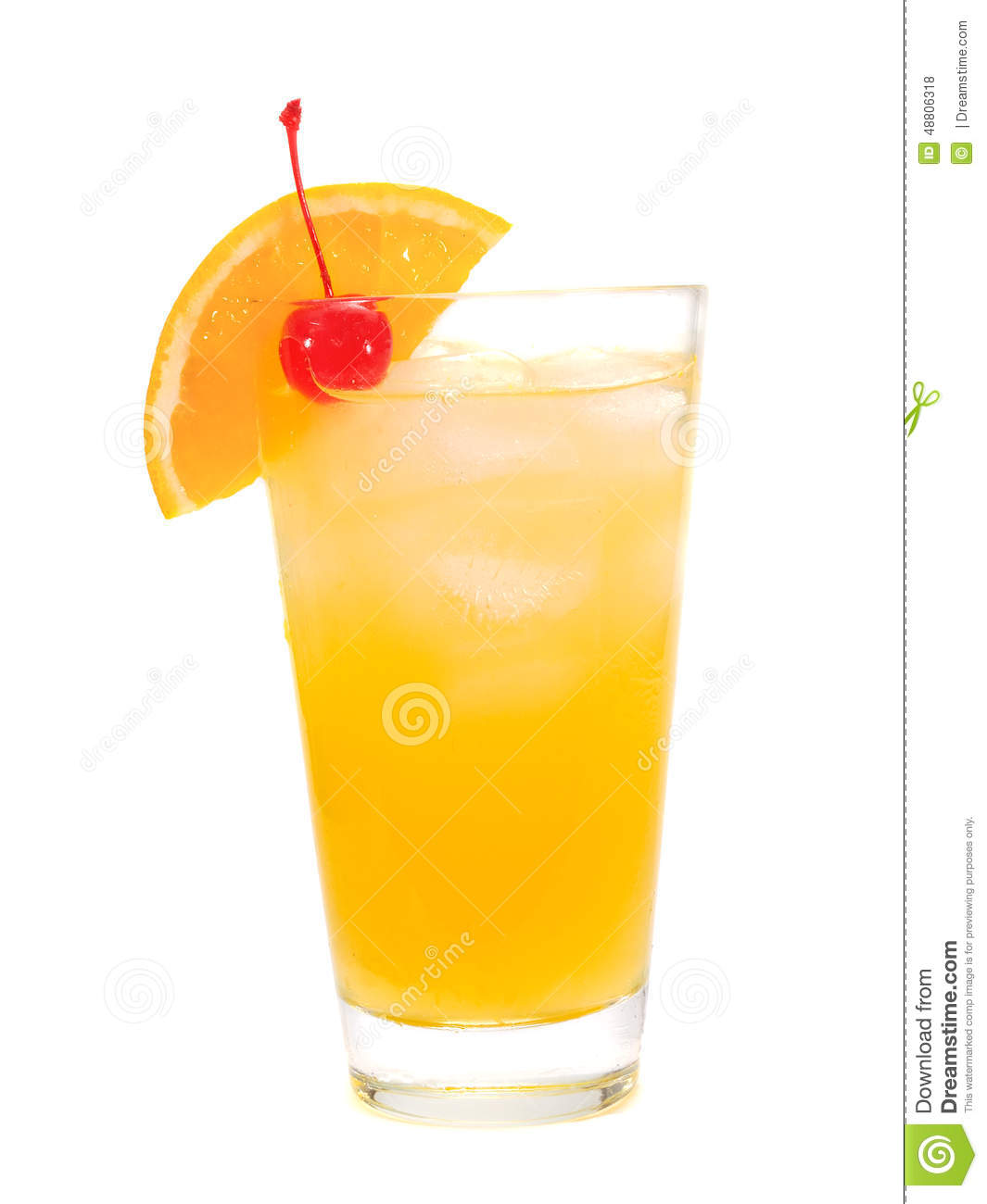 Cocktail collection harvey wallbanger stock photo for Cocktail orange
