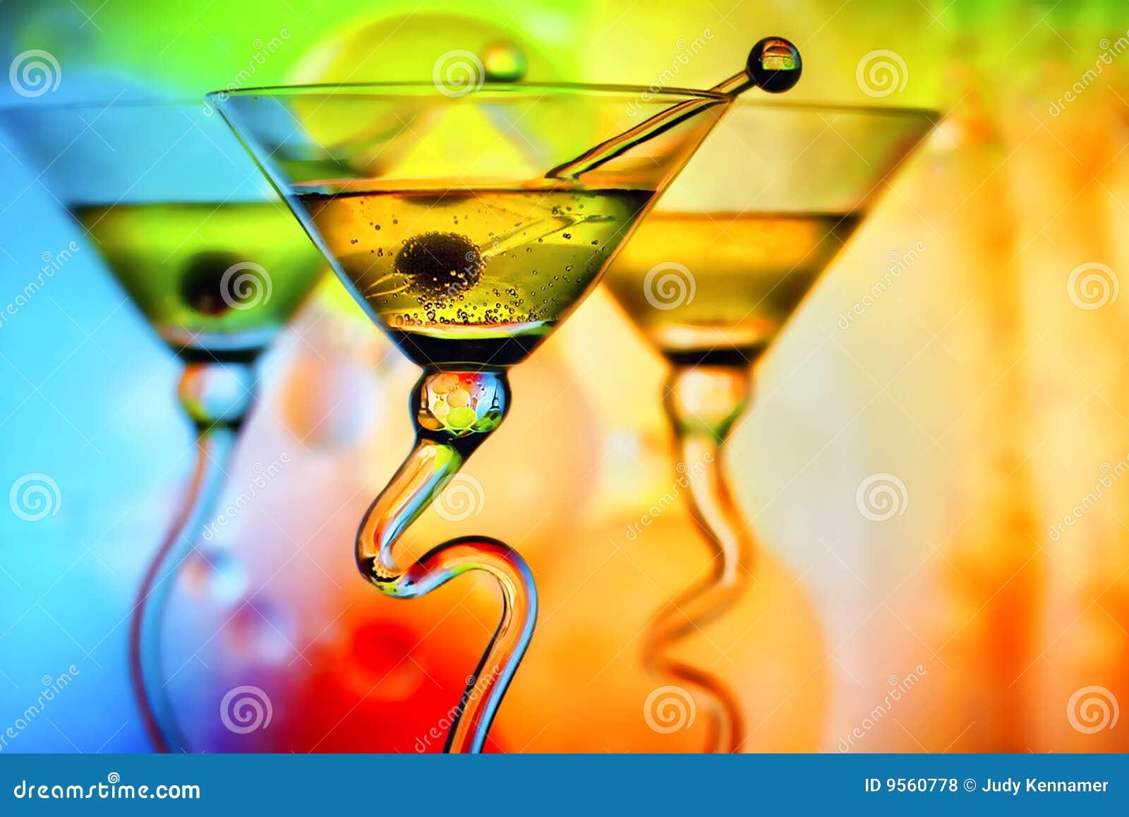 Cocktail coloridos