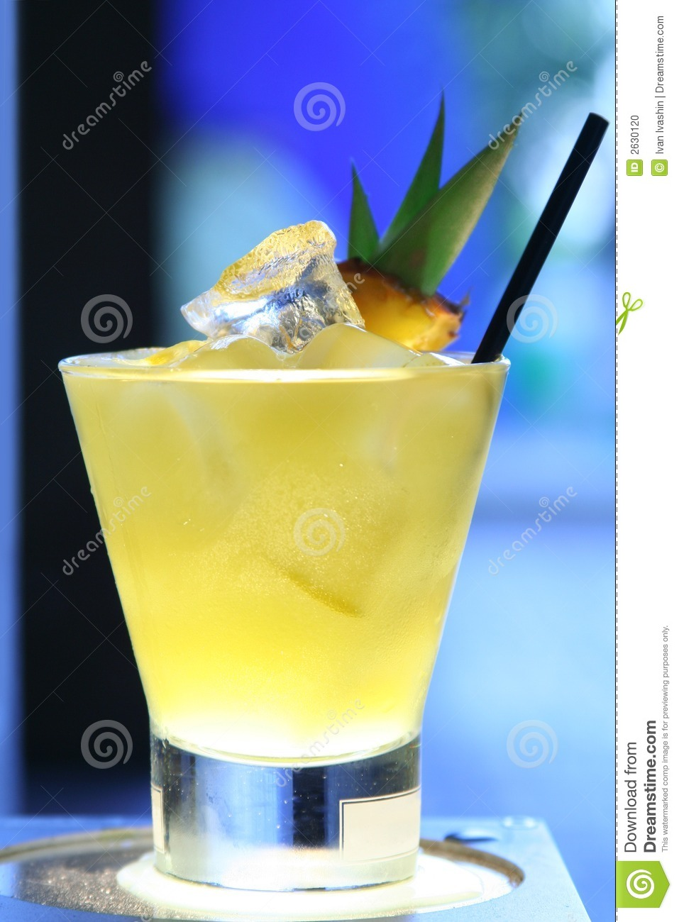 Cocktail d ananas