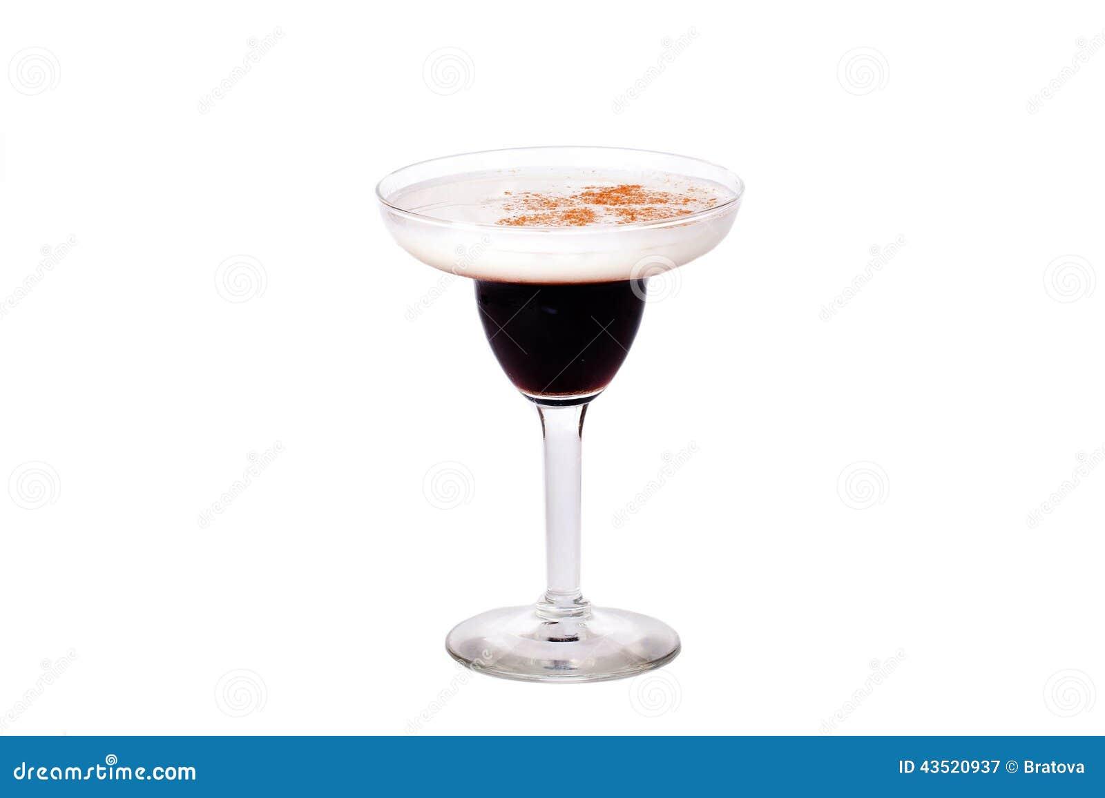 Très Cocktail De Baileys Noir Et Blanc Image stock - Image: 43520937 UJ09
