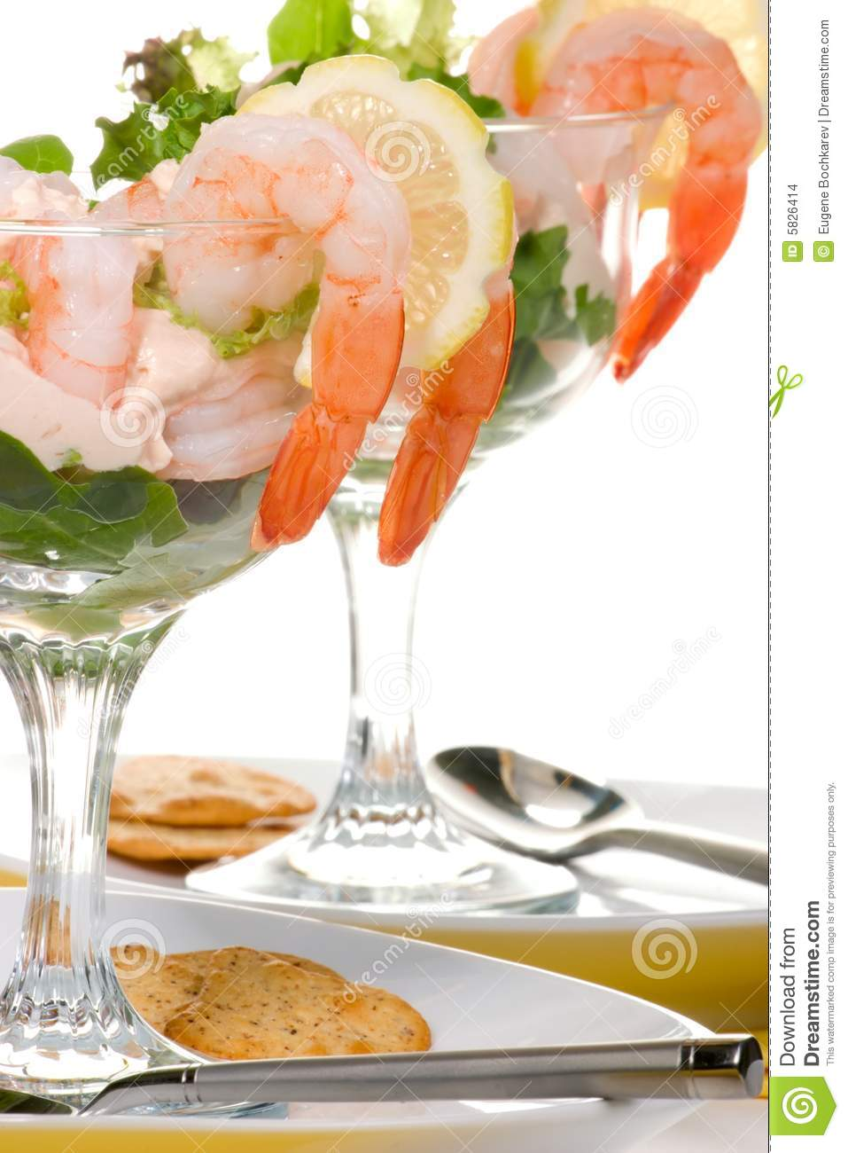 Cocktail de crevette images stock image 5826414 for Cocktail de crevettes