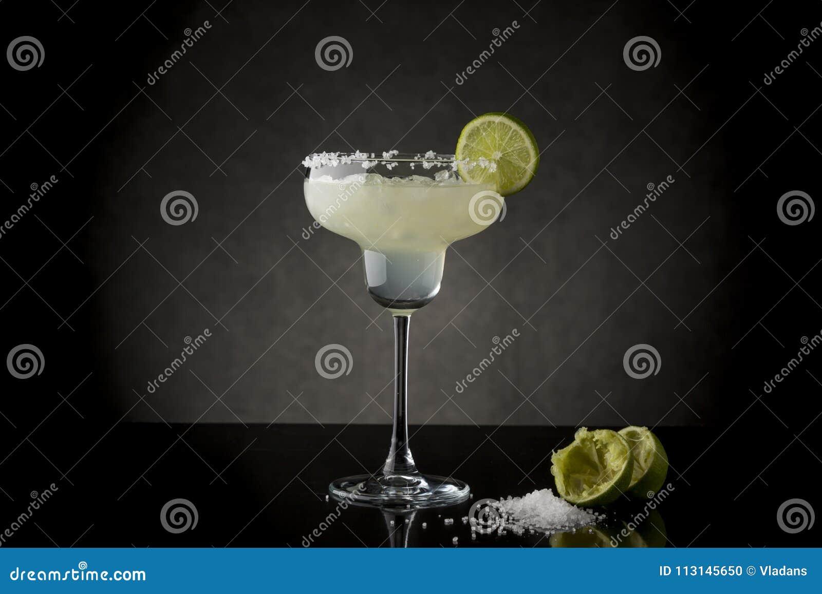 Cocktail de margarita de chaux