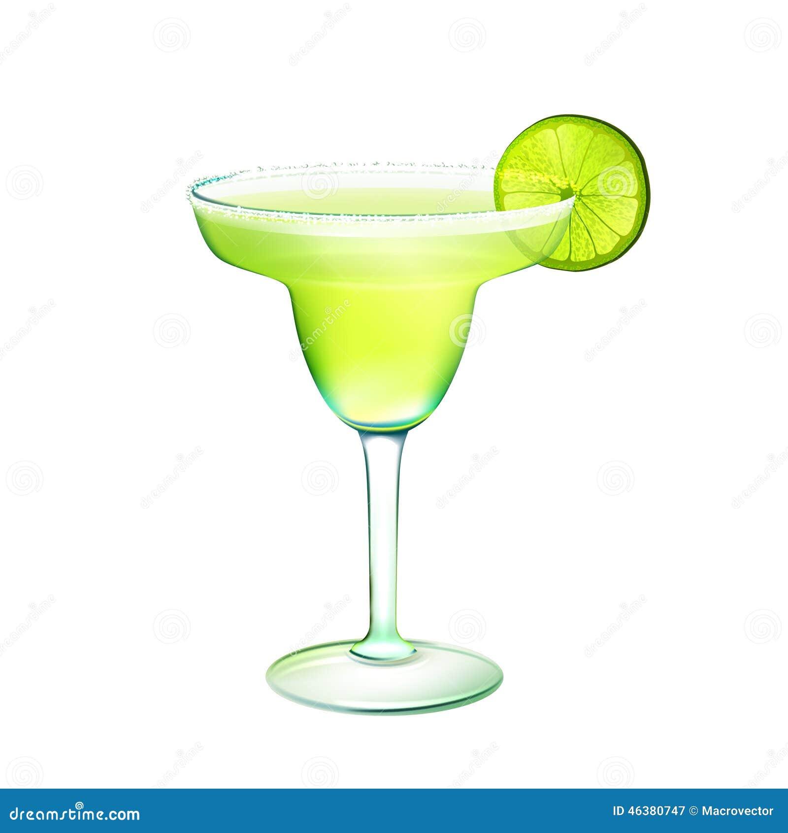 Cocktail de margarita réaliste