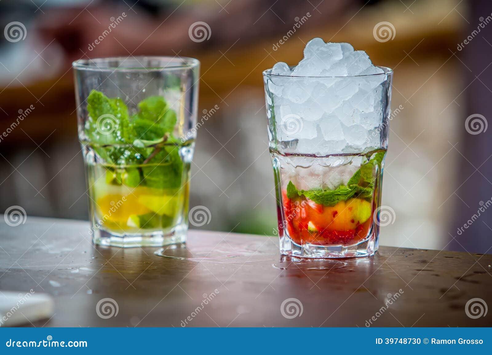 Cocktail de Mojito