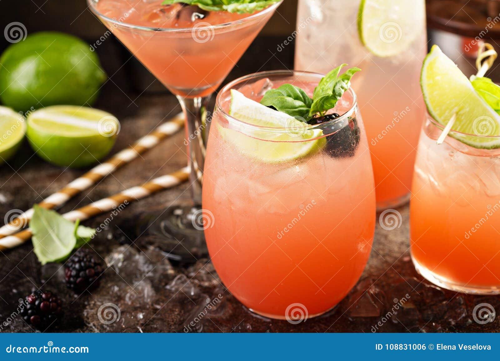 Cocktail della calce e del pompelmo