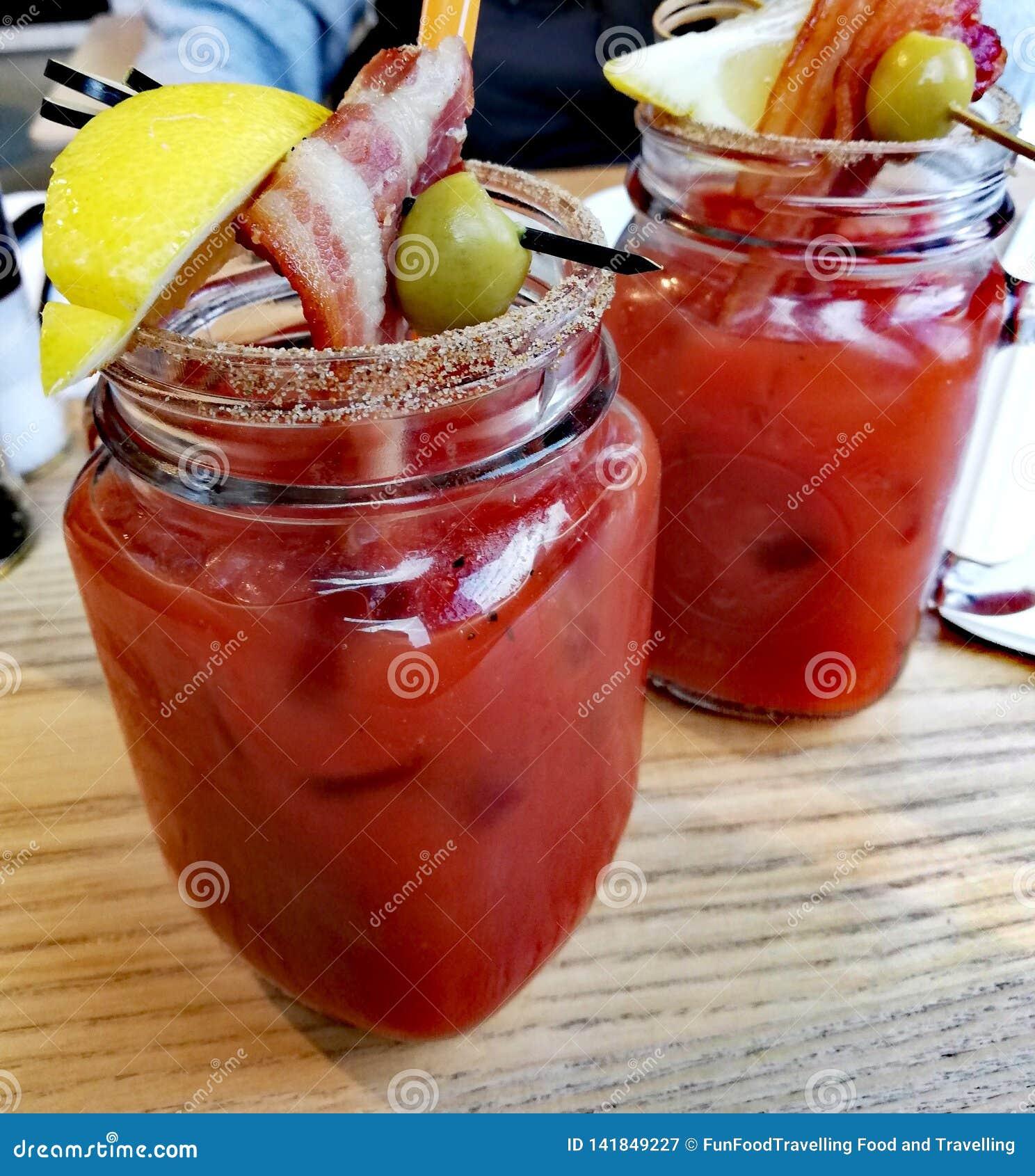 Cocktail della Mary sanguinante