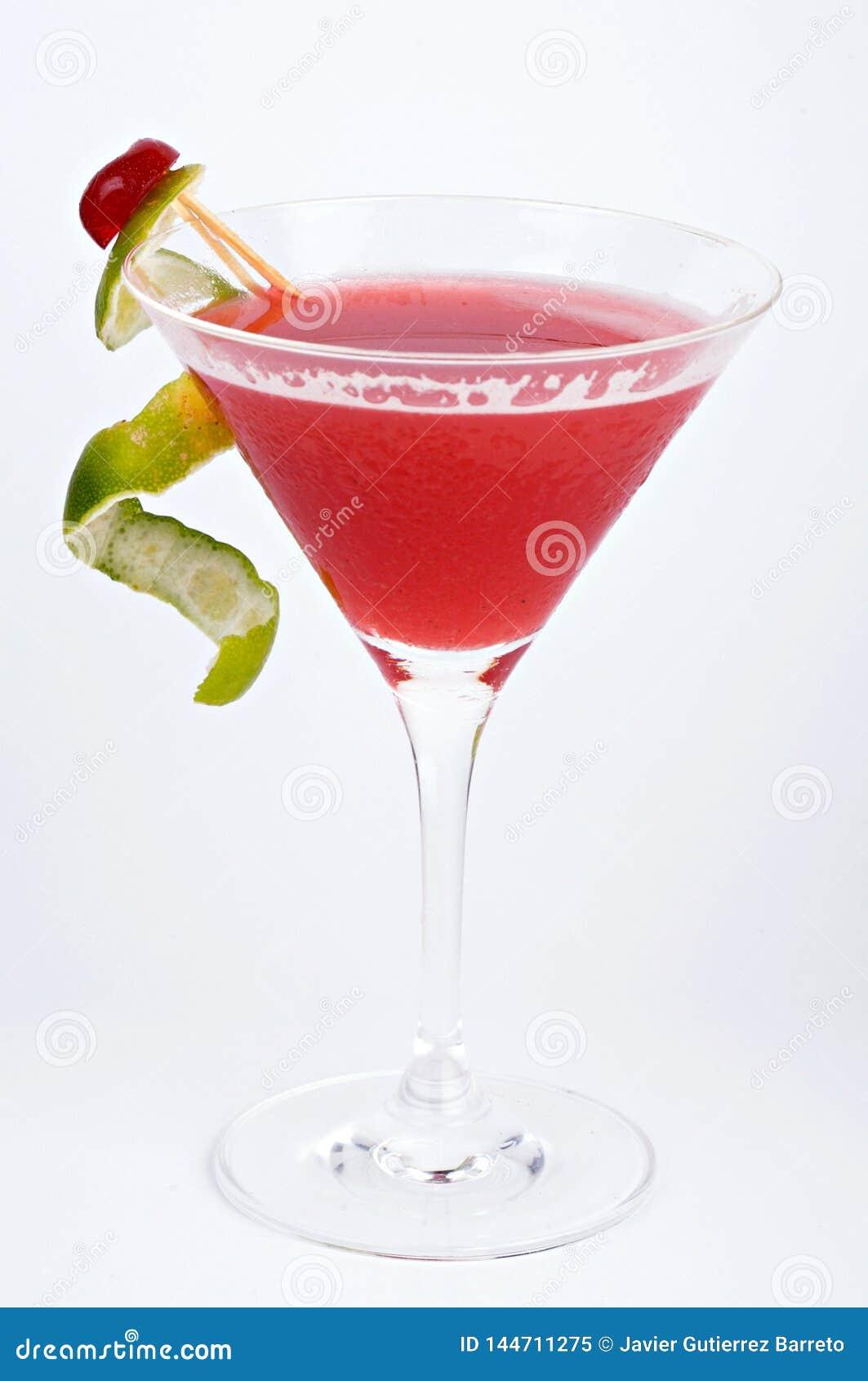 Cocktail do daiquiri de morango