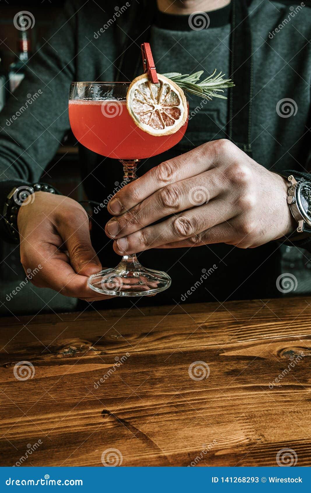 Cocktail exotique délicieux