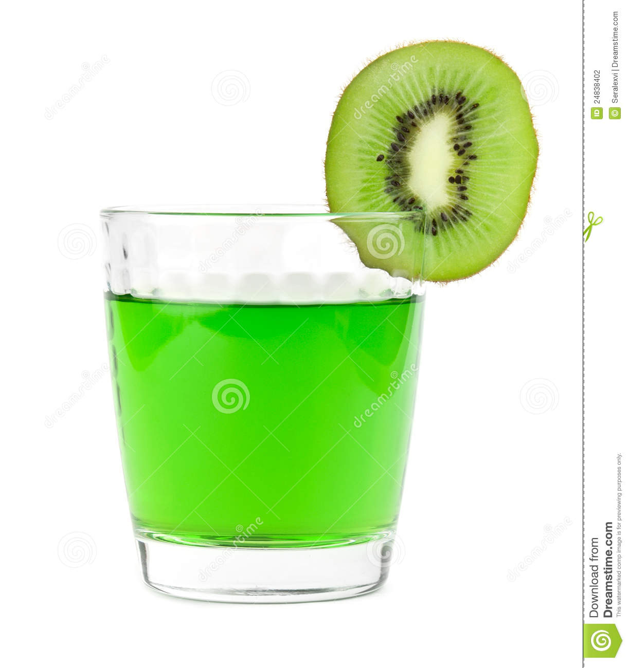 Cocktail with kiwi stock photography image 24838402 for Cocktail kiwi