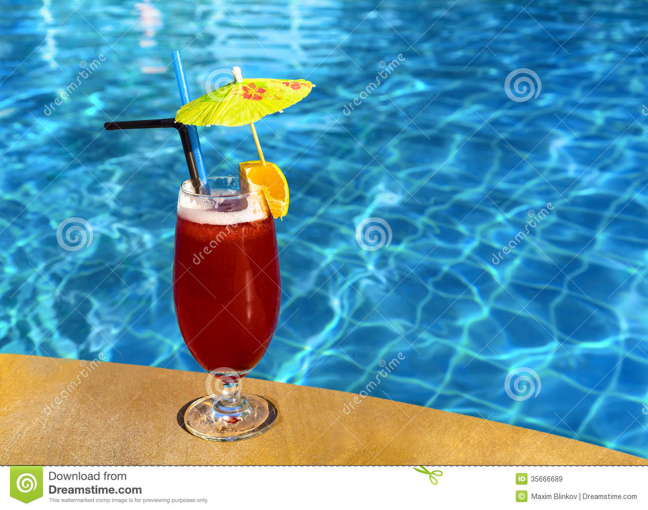 Cocktail mai tai near pool stock image image of cold - Where is my nearest swimming pool ...