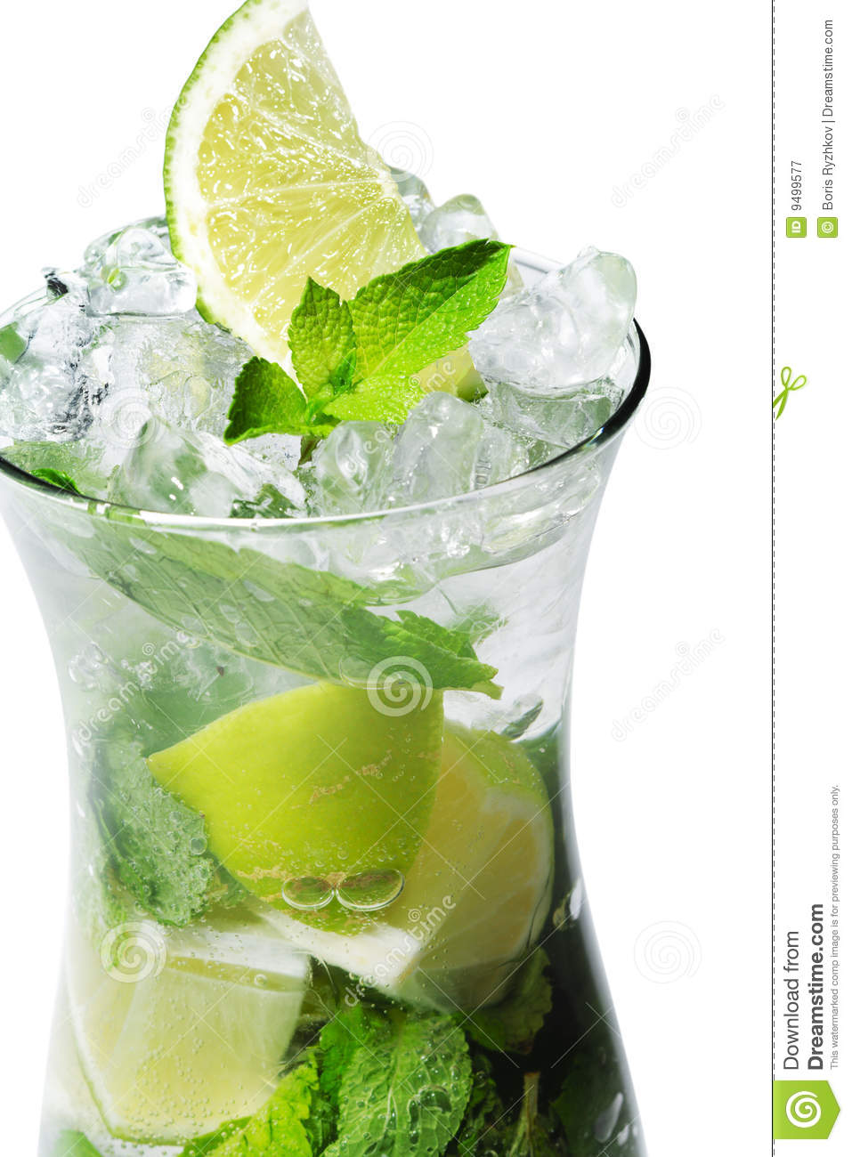 Cocktail - Mojito Royalty Free Stock Photography - Image: 9499577