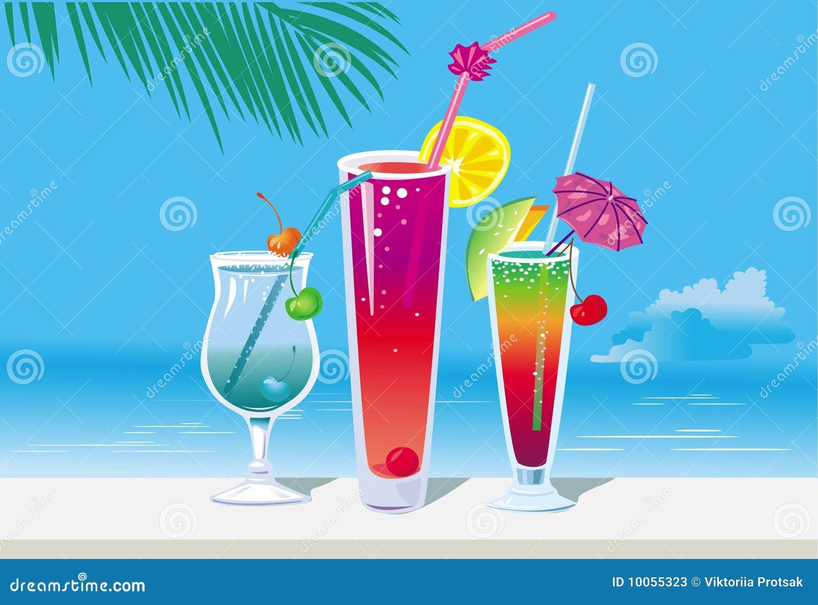 Cocktail na praia