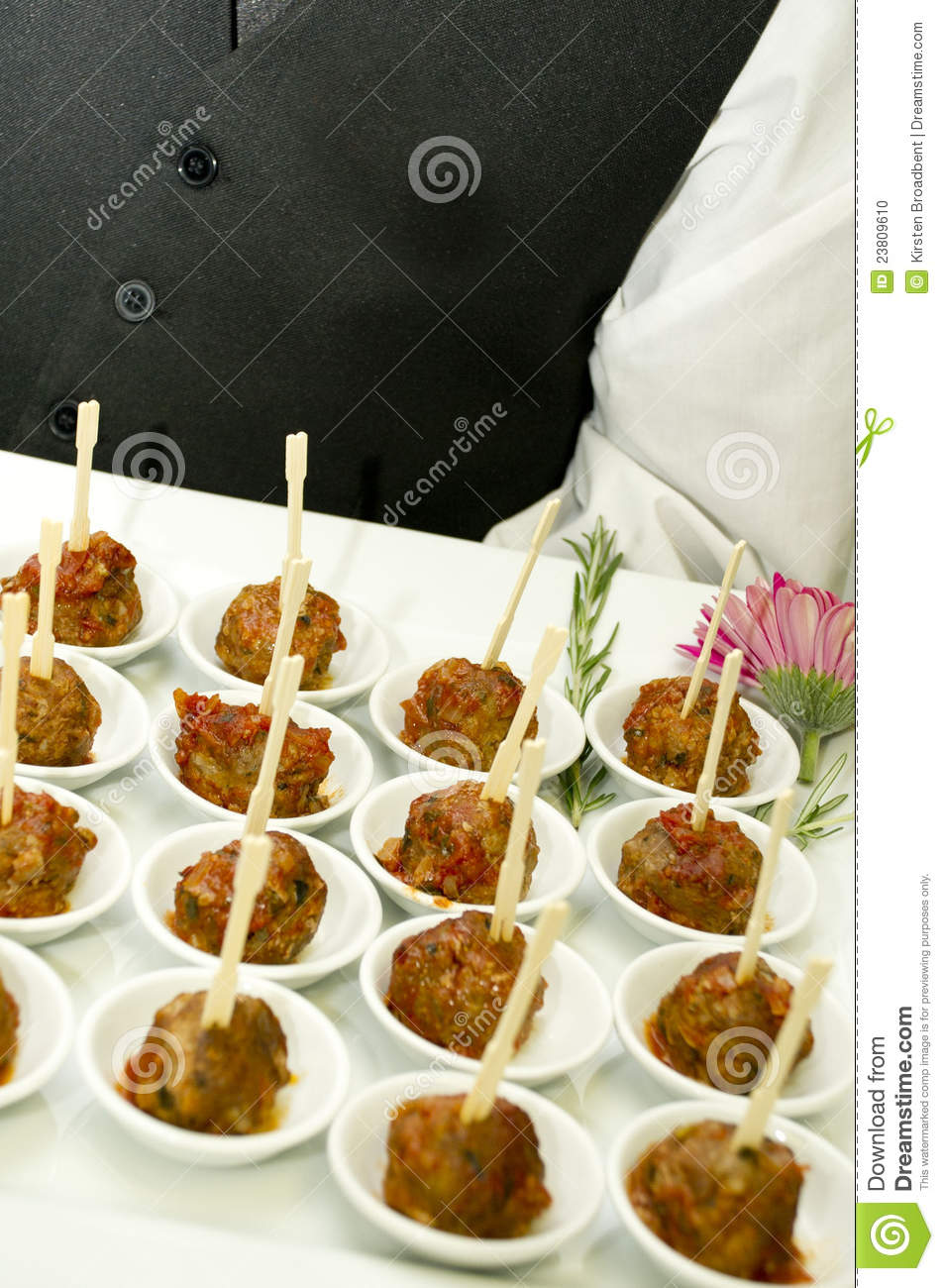 cocktail party food meat stock photo image 23809610. Black Bedroom Furniture Sets. Home Design Ideas