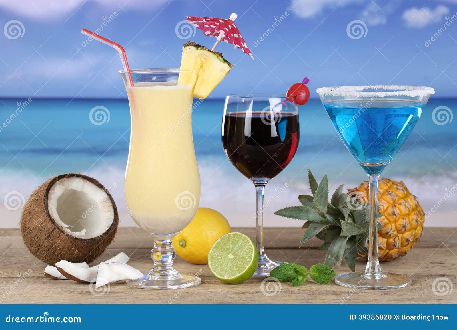 Cocktail sulla spiaggia