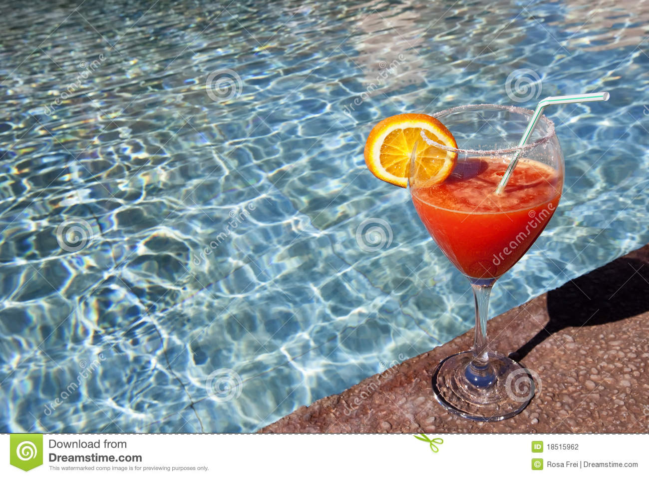Cocktail at swimming pool stock photo image of fresh How to make swimming pool water drinkable