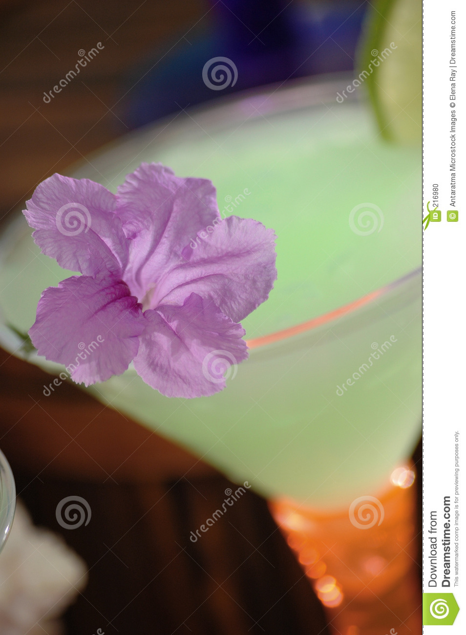 Download Cocktail tropicale 2 fotografia stock. Immagine di viola - 216980